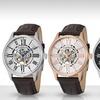 Stührling Men's Automatic Skeleton Watch