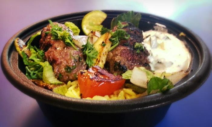 Pitasub Express - Sylvania: Lebanese Food and Drinks at Pitasub Express (Half Off). Two Options Available.