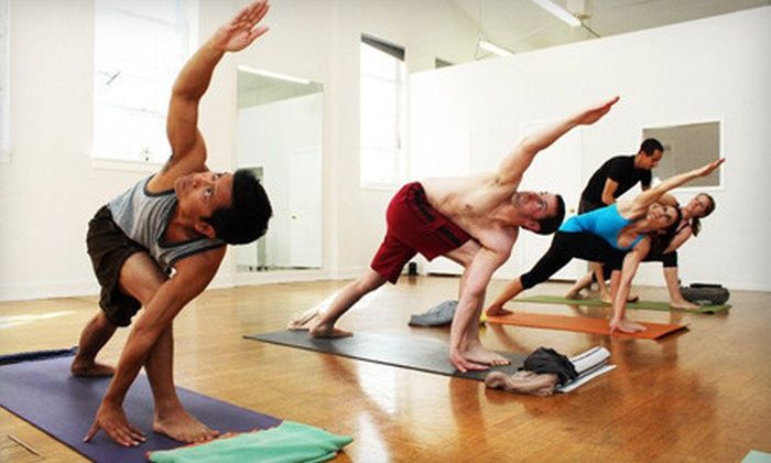 Namaste Pacific Yoga - Multiple Locations: 10 or 20 Classes at Namaste Pacific Yoga (Up to 71% Off)