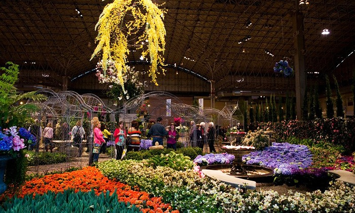 Chicago Flower & Garden Show presented by Mariano's - Chicago Flower & Garden Show: Chicago Flower & Garden Show presented by Mariano's at Navy Pier for Two or Four (Up to 53% Off)