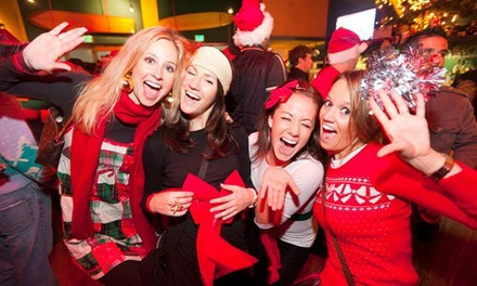 $12 for 2 Tickets to the SANTA Monica Pub Crawl on Saturday, Dec. 14 ($20 Value). 4 Routes Available.