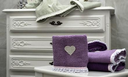 Set asciugamani Heart