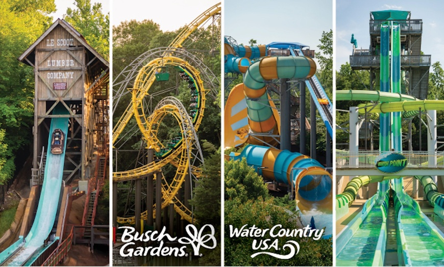 Busch Gardens Williamsburg And Water Country Usa Up To 44 Off Groupon