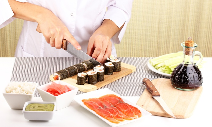 Sushi Academy Tennessee - Guest House Inn / Eco Lodge Dining Room: Sushi-Making Class by Sushi Academy (Up to 50% Off)