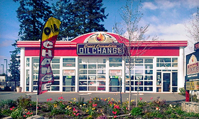 Great Canadian Oil Change - Victoria: $32 for a Standard Oil Change at Great Canadian Oil Change (Up to $63.82 Value)