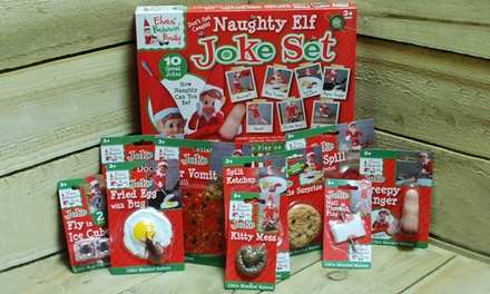 PMS International Naughty Elf Joke Set