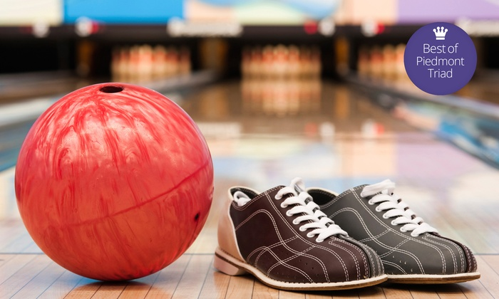 Buffaloe Lanes - Multiple Locations: $12.99 for Bowling with Shoe Rental for Two at Buffaloe Lanes Family Bowling Centers (Up to $24 Value)