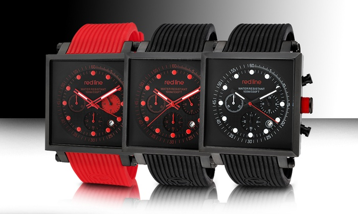 Red Line Compressor 2 Square-Case Men's Watches: Red Line Compressor 2 Square-Case Men's Watches. Multiple Styles Available. Free Returns.