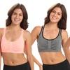 2-Pack of Women's Criss-Cross Sports Bras
