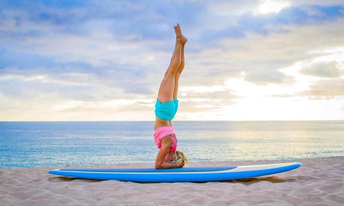 Yoga Kai Paddle Yoga - Ala Moana Beach Park: 5 or 10 Paddleboard Yoga Classes at Yoga Kai Paddle Yoga (Up to 49% Off)