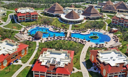 ✈ All-Inclusive Grand Bahia Principe Coba Stay w/ Airfare. Incl. Taxes & Fees. Price/Person Based on Double Occupancy.