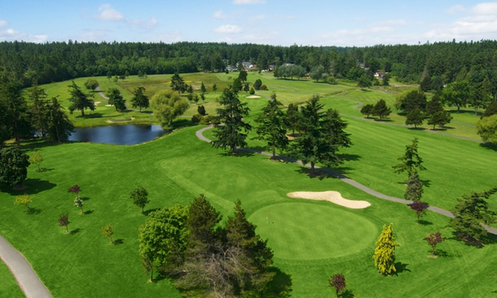 Whidbey Golf Club - Oak Harbor: Golf for One, Two, or Four with Cart Rental and Unlimited Range Balls (Up to 47% Off)