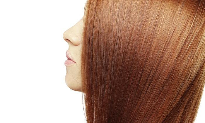 Blush Salon - Blush Salon: Women's Haircut with Conditioning Treatment from BLUSH Salon (60% Off)