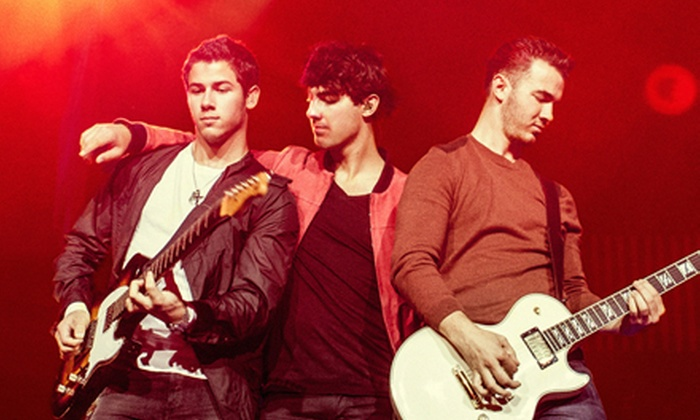 Jonas Brothers Live Tour - The Embarcadero: $20 to See the Jonas Brothers Live Tour on August 13 at 7 p.m. at America's Cup Pavilion (Up to $52 Value)