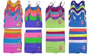 Mystery Deal Girls' Racerback or Cami Top Set (12-Piece)