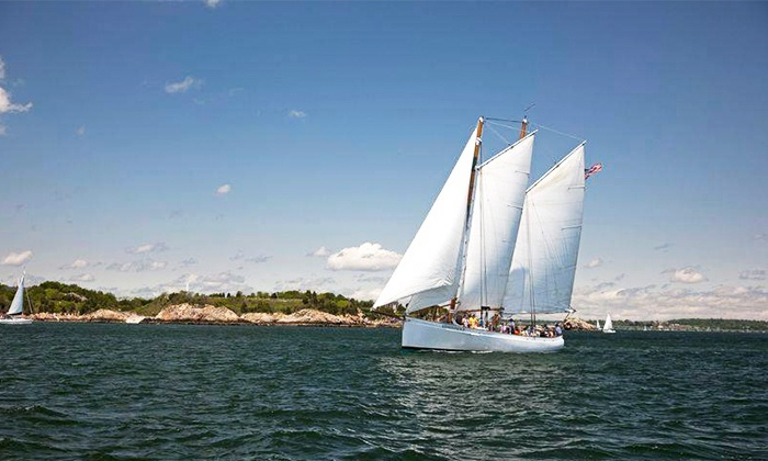 Sail Newport - Newport: Day Sail or Sunset Sail for Two on the Schooner Adirondack II (Up to 25% Off)
