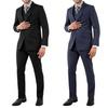 Vincent Moretti Men's 3-Piece Pinstripe Suit