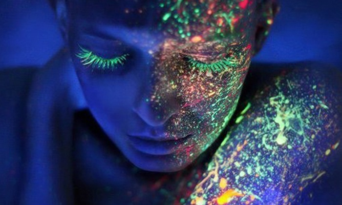Blacklight Run - Pomona: Blacklight Run 5K for One or Two on Saturday, October 5 (Up to 57% Off)