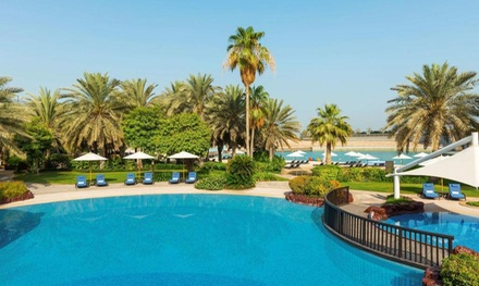 Abu Dhabi: 1 3 Nights for Two with Yas Island Park and Option for Breakfast at 5* Sheraton Hotel & Resort