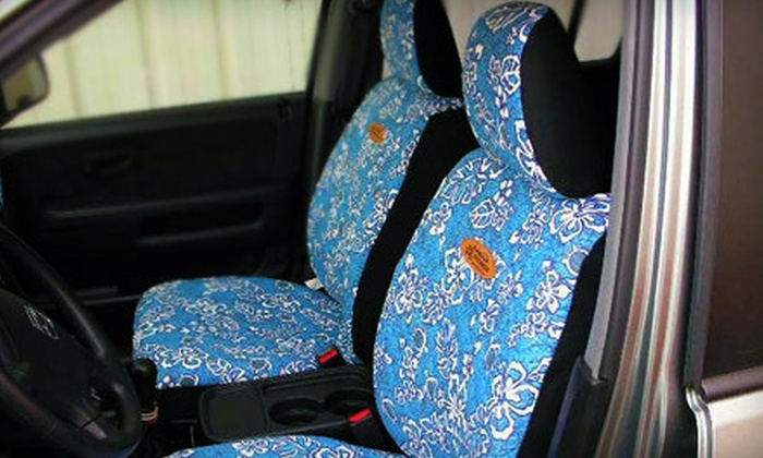 Hawaiian Seat Covers Company - Aiea: $40 for Two Universal Car Seat Covers from Hawaiian Seat Covers Company ($89 Value)