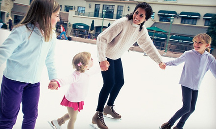 Echo Valley - Comstock: Two or Four All-Day Ice-Skating Passes with Skate Rentals and Hot Chocolates at Echo Valley (Half Off)
