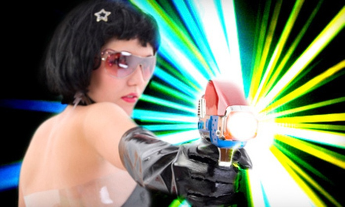 Lazer X - Addison: $14 for Four Games of Laser Tag at Lazer X (Up to $28 Value)