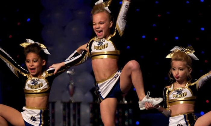 Texas Power Athletics - Austin: Week of Cheer Camp or Month of Cheer Classes, Open Gym, or After School Care at Texas Power Athletics (Up to 67% Off)