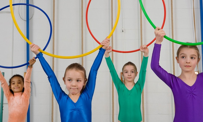 Julie's Gym - North Patchogue: One Month of Kids' Gymnastics Classes or Two-Hour Drop-Off Classes at Julie's Gym (Up to 73% Off)