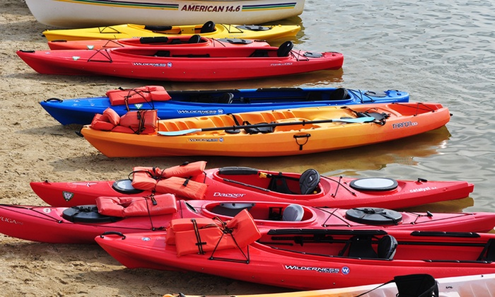 Marsh Creek Watersports - Marsh Creek State Park : Two-Hour Paddleboard or Double Kayak Rental from Marsh Creek Watersports (Up to 51% Off)
