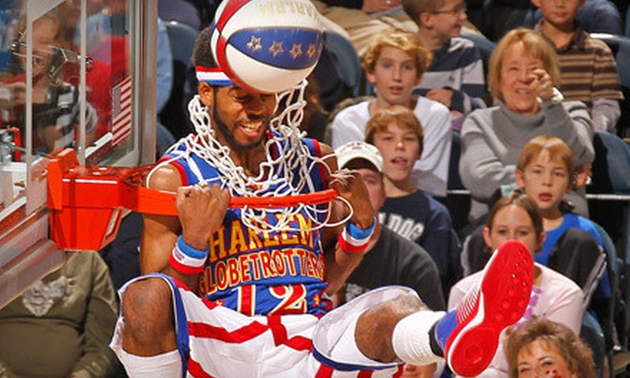 Harlem Globetrotters - MTS CENTRE: Harlem Globetrotters Game at MTS Centre on Saturday, January 5, at 2 p.m. (Up to 45% Off). Four Options Available.