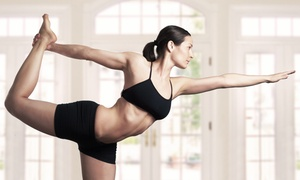 Transcend Wellness and Yoga: 5 Yoga or Aerial-Yoga Classes at Transcend Wellness and Yoga (Up to 68% Off)