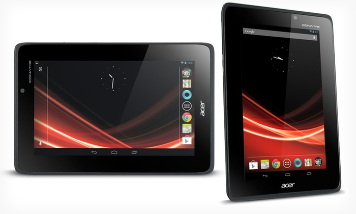 Acer 7-Inch Iconia 8GB Tablet: $179.99 for an Acer 7-Inch Iconia 8GB Tablet (Manufacturer Refurbished) ($249.99 List Price). Free Shipping and Returns.