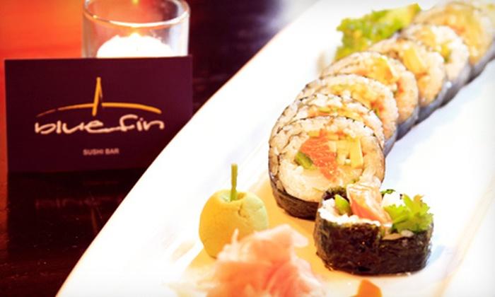 Blue Fin Sushi Bar - Bucktown: Asian Food and Sushi Sunday–Wednesday or Thursday–Saturday at Blue Fin Sushi Bar (Half Off)