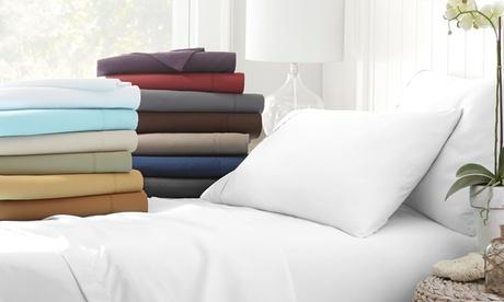 Microfiber Merit Linens Bed Sheets Sets (4-Piece)
