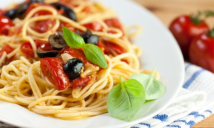 Italian Food at Saltimbocca Italian Bistro(Up to 39% Off). Two Options Available.
