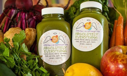 Three- or Five-Day Juice Cleanse from Lilli Pilli Health Bar (Up to 39% Off)