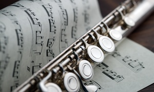 Nyc Flute Instruction: Two Private Instrument Lessons at NYC Flute Instruction (46% Off)
