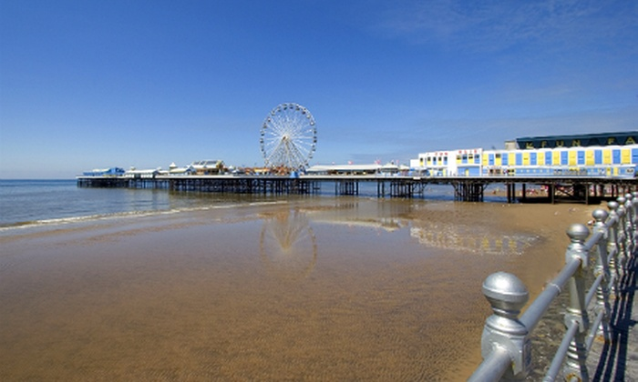 Long Eaton Hotel - Blackpool: Blackpool: 1 to 3 Nights For Two With Breakfast from £45; Plus Dinner from £49 at Long Eaton Hotel (Up to 55% Off)