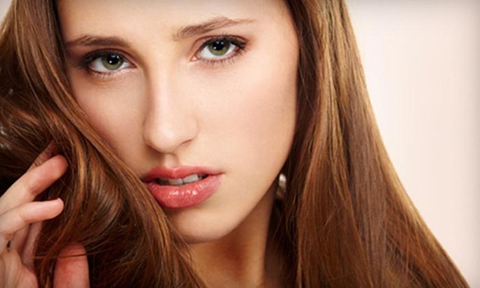 Salon Topaz & Nail Parlor - Point Pleasant: One or Two Keratin Hair Treatments at Salon Topaz & Nail Parlor (Up to 70% Off)