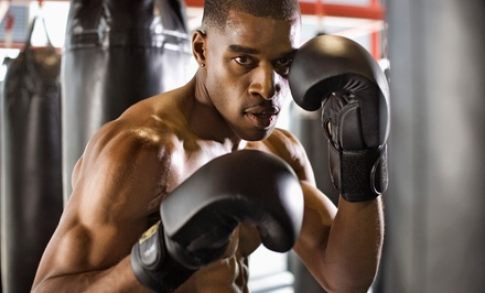 $39 for One Month of Unlimited Group Boxing Classes at Punch Boxing for Fitness ($139 Value)
