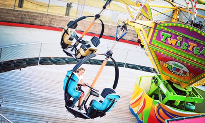 Fun Center at Paige's Crossing - Columbia City: 8 Ride Tickets with 50 Arcade Tokens or 16 Rides with 100 Tokens at Fun Center at Paige's Crossing (Up to 55% Off)