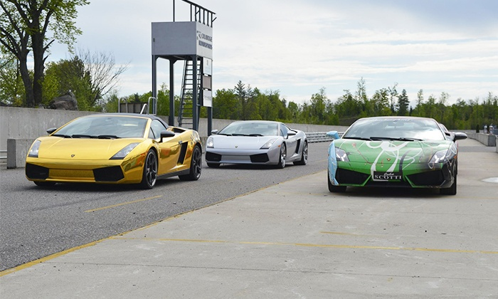 G1Tour - Multiple Locations: Drive One or Two Laps in a Luxury Car from G1Tour (Up to 75% Off)