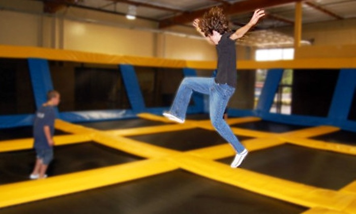 Great Jump Sports - Milpitas: $9 for Two Hours of Trampoline Playtime at Great Jump Sports in Milpitas (Up to $18 Value)
