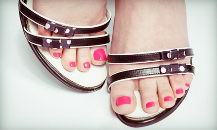 Queen City Nail Bar & Boutique - Ashley Park: One or Three Pedicures at Queen City Nail Bar & Boutique (Up to 53% Off)