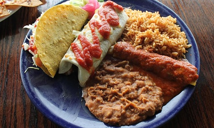 Mexican Food for Dine-In or Carry-Out at Baja Grill (Up to 51% Off). Six Options Available.