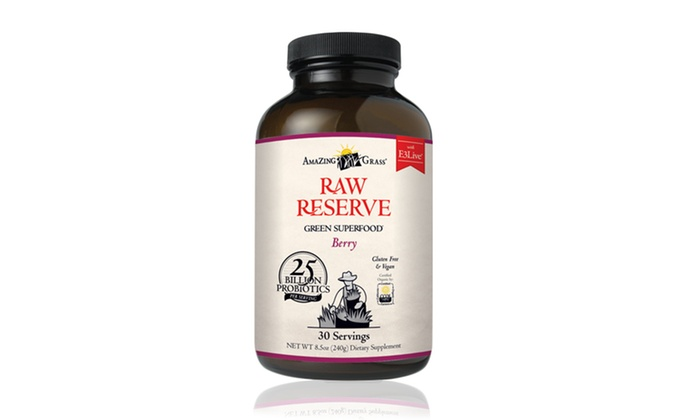 Raw Reserve Green SuperFood Berry Supplements: Raw Reserve Green SuperFood Berry Supplements