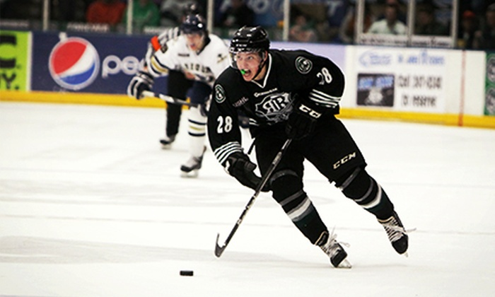 Cedar Rapids RoughRiders - The Stable: Cedar Rapids RoughRiders Hockey Game for Two at The Stable (51% Off). Four Games Available.