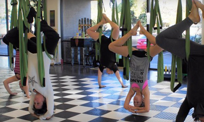 Tough Lotus - Chandler: Three or Six Aerial-Fitness Classes at Tough Lotus (Up to 57% Off)