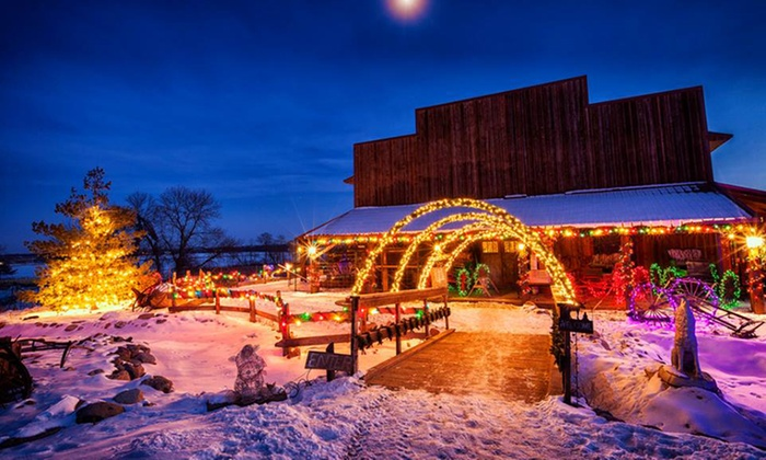 Fur-Ever Wild - Lakeville: Holiday Lights and Wildlife Tour for Four, Six, or Eight at Fur-Ever Wild (Up to 50% Off)