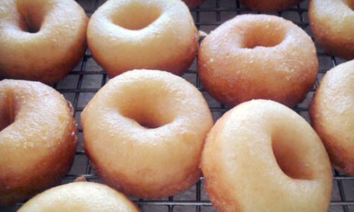 The Dough Factory - Northwest Columbia: Five Buckets of Mini Donuts or $6 for $12 Worth of Mini Donuts and Select Drinks at The Dough Factory